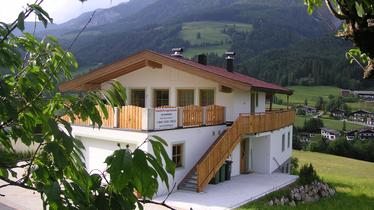 Apartments Fiecht - next to the bikepark Leogang