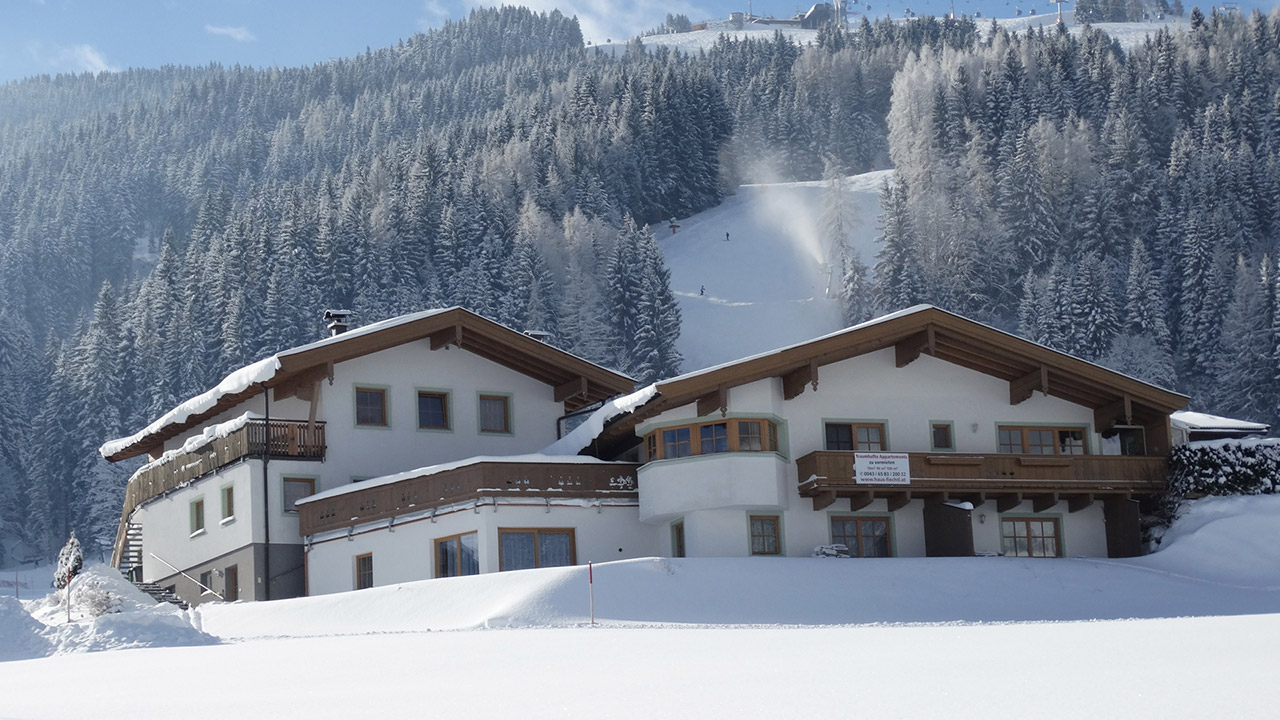 Apartments Fiecht - next to the ski run
